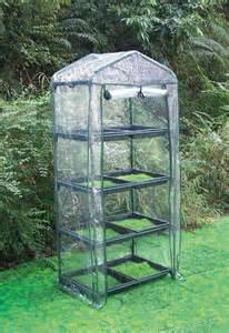 Small Green Home Kits Earthcare 4 Tier Grow Rack Greenhouse Kit