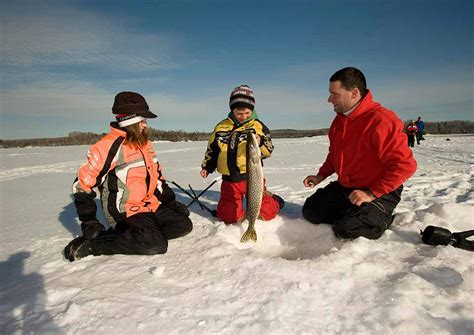 Accessible House Plans by Ice Fishing In Northern Ontario Algoma