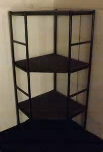 corner display shelf portable with 3 shelves 58 quot