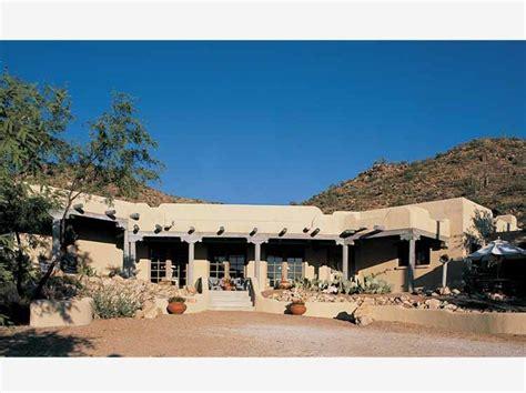adobe style home plans adobe southwestern style house plan 4 beds 3 baths 3144 sq ft plan 72 486