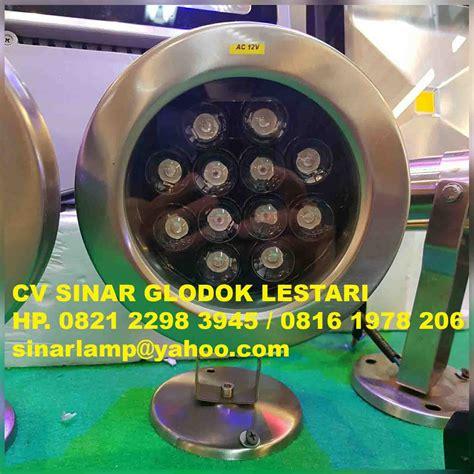 Lu Sorot Air Mancur lu sorot kolam ikan dan air mancur 12v 12 watt