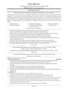 Sample Business Analyst Resume business analyst resume keywords 12 sample business analyst resume