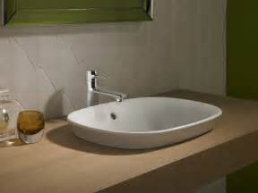maris semi recessed vessel sink