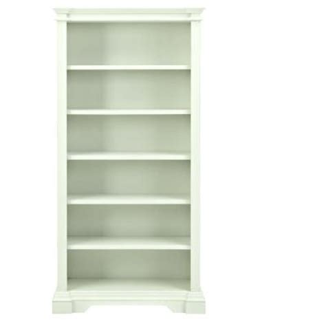 Ivory Shelf by Home Decorators Collection Bufford 5 Shelf Open Bookcase