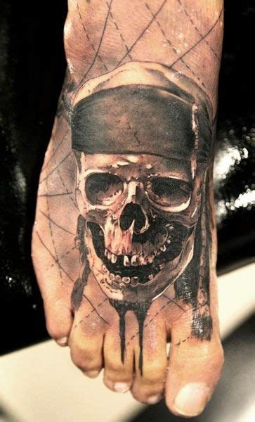 41 pirate skull tattoos and ideas