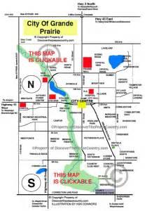 map grande prairie alberta