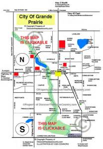 map of grand prairie map grande prairie alberta