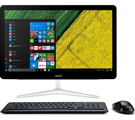 buy acer aspire z24 880 23 8 quot touchscreen all in one pc