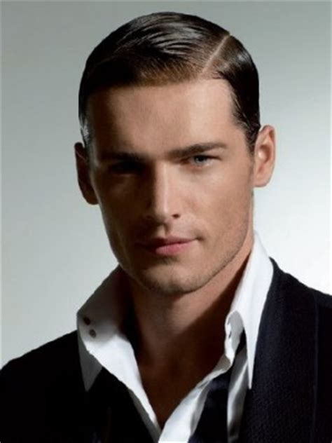 parted haircut style men side parting the london school of barbering