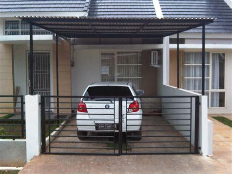 desain garasi mobil klasik pintu kayu modern minimalis mewah desain rumah minimalis
