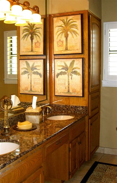Palm Tree Bathroom » Home Design 2017