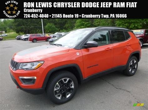 orange jeep compass 2017 spitfire orange jeep compass trailhawk 4x4 120534660