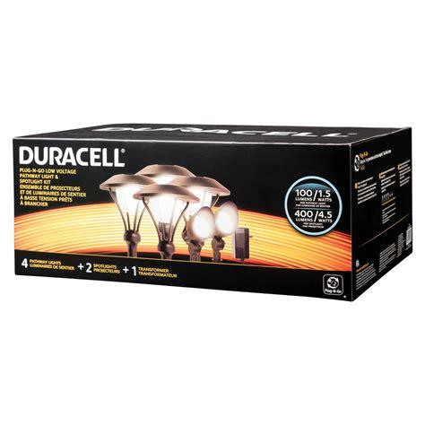 led 6 pack landscape lighting kit duracell