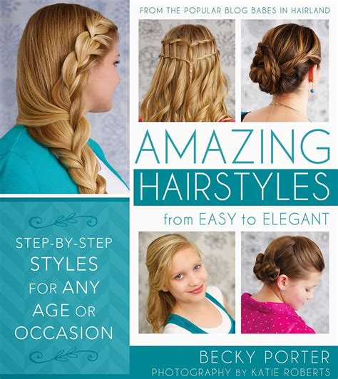 Amazing Hairstyles Book | amazing hairstyles book blog tour babes in hairland