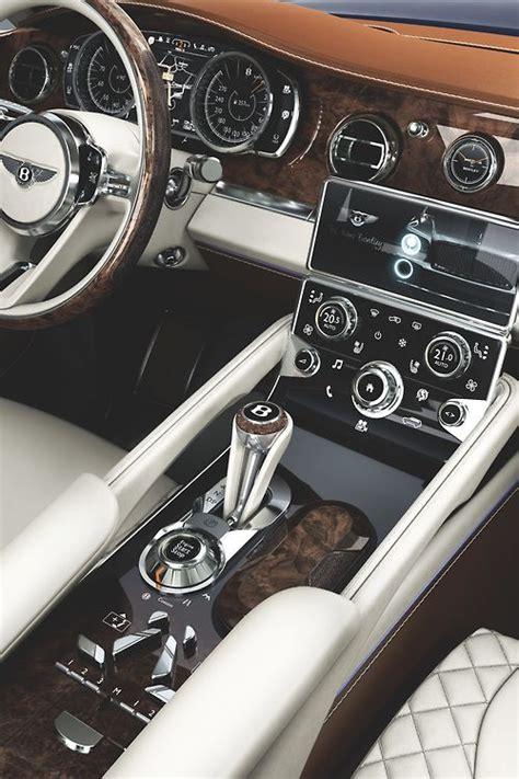 luxury bentley interior 17 best images about luxury car interiors on pinterest
