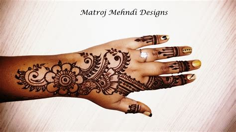 mehndi designs for hands easy 2016 video easy henna