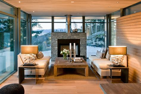 modern cabin interior log cabin interiors for the most comfortable log cabin at