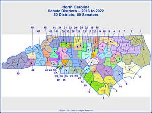 carolina senate district map carolina state senate districts map 2013 to 2022