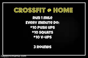 home crossfit workouts crossfit wod for home