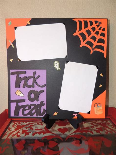 foiled trick or treat printable the happy scraps 1000 images about scrapbooking halloween on pinterest