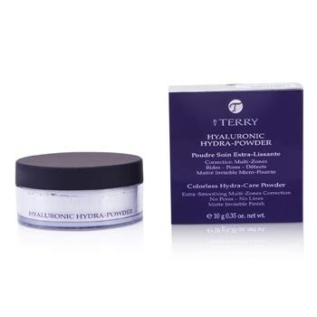 by terry hyaluronic hydra powder annies beauty by terry hyaluronic hydra powder colorless hydra care