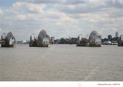 thames barrier england thames barrier london england stock picture i1087147 at