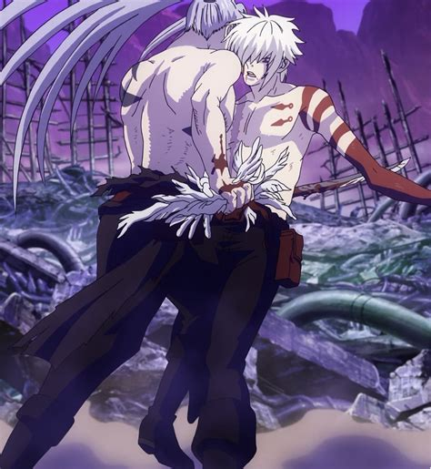 d gray man wikipedia characters image kanda stabs allen png d gray man encyclopedia