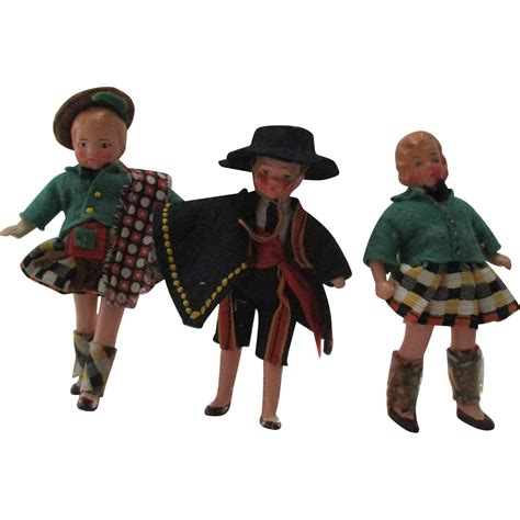antique bisque dollhouse doll antique bisque german dolls for your dollhouse from