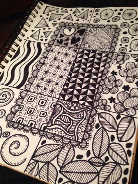 zentangle pattern floor zen doodles who knew this had a name been quot zen doodling