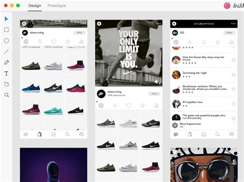 Content Commerce Ui Template For Adobe Xd Freebie Supply Free Xd Templates