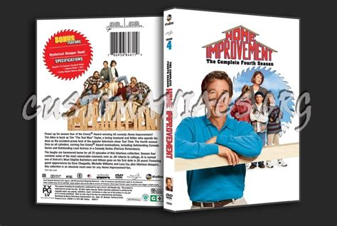 home improvement season 4 dvd cover dvd covers labels