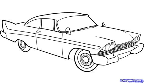 How To Draw Classic Cars classic car drawing how to draw an car car step