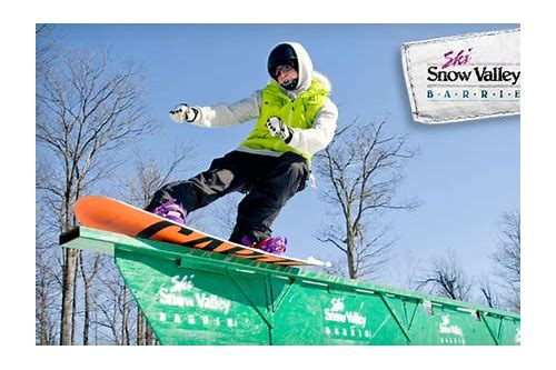 snow valley barrie lift ticket coupons
