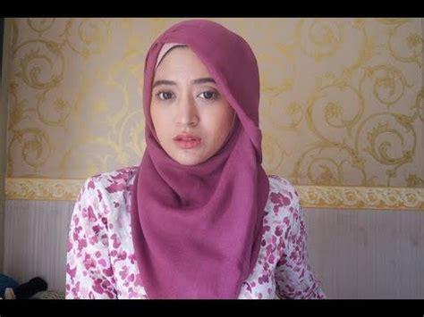 tutorial hijab segitiga youtube best 25 tutorial hijab segitiga ideas on pinterest
