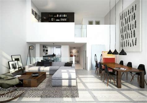 Maravillosa  Diseno De Interiores Pisos Pequenos #7: Paredes-blancas-loft-luminoso-cuadros-decorativos.jpg