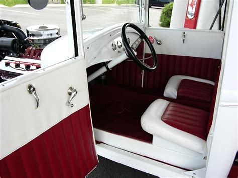 Model A Ford Upholstery by 1930 Ford Model A Custom 43522