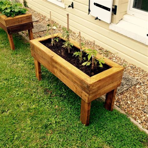 Pallet Planter Box Plans by Planter Boxes From Pallets 99 Pallets