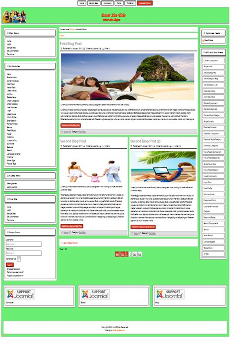 free joomla 2 5 template free templates for joomla 3 8 3 3 2 5