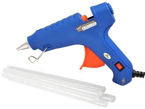 Glue Gun Kenmaster 40w Watt Murah iwill blue 40w 40 watt with 3 melt glue sticks standard temperature corded glue gun price in