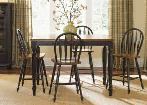 Country Dining Room Table Low Country Dining Black Gathering Table Tables Dining Room