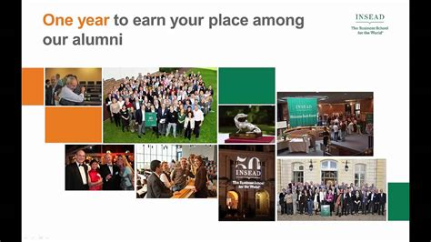 Insead Vs Kellogg One Year Mba by Insead Mba Programme Overview