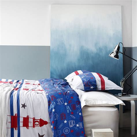 Blue And White Bedding Sets Contemporary White And Blue Cotton Bedding Set Ebeddingsets