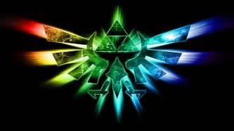 triforce colors legend of triforce wallpaper