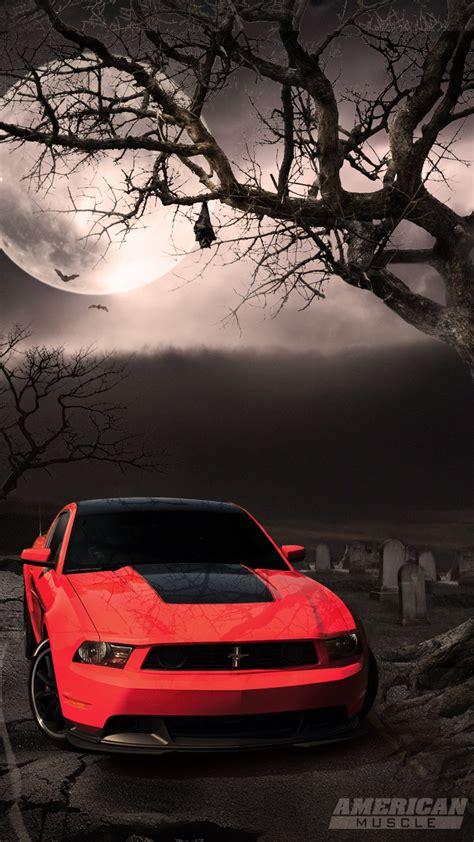 mustang night moon