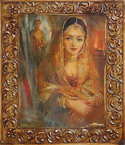 princess painting rajput princess