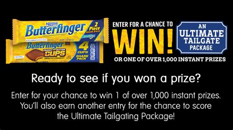 Butterfinger Sweepstakes 2017 - butterfinger college instant win game