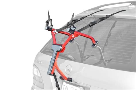 Single Bike Rack For Car Trunk by Allen Al01 Premium 1 Bike Trunk Mounted Car Rack Modern Bike