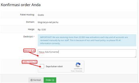7 langkah mudah membuat paspor baru 7 langkah membuat domain dan hosting gratis di idhostinger