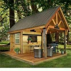 garden sheds party shed backyard idea outdoor living plans and ideas