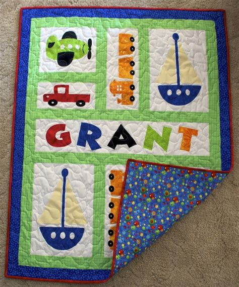Quilts For Boys by Baby Boy Quilt Maybe With Motorcycles Sewing For